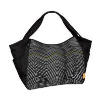 Zwillingstasche - Twin Bag Zigzag black & white