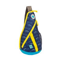 Rucksack Mini Sling Bag, Cars navy