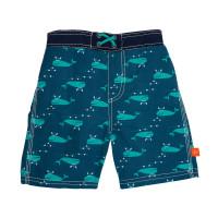 Badehose Board Shorts Boys, Blue Whale