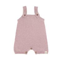 Baby Jumpsuit - Knitted Jumpsuit GOTS, Garden Explorer Light Pink
