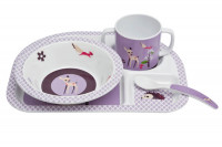 Kindergeschirr Set - Dish Set, Little Tree Fawn