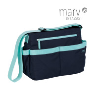 Wickeltasche Marv Shoulder Bag , Blue