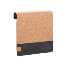Wechselklappe Casual Messenger Bag Frontcover, Cork Dark Grey