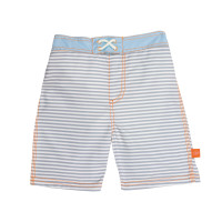 Badehose Board Shorts Boys, Small Stripes