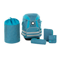 Schulranzen Set - School Set, About Friends Mélange Blue