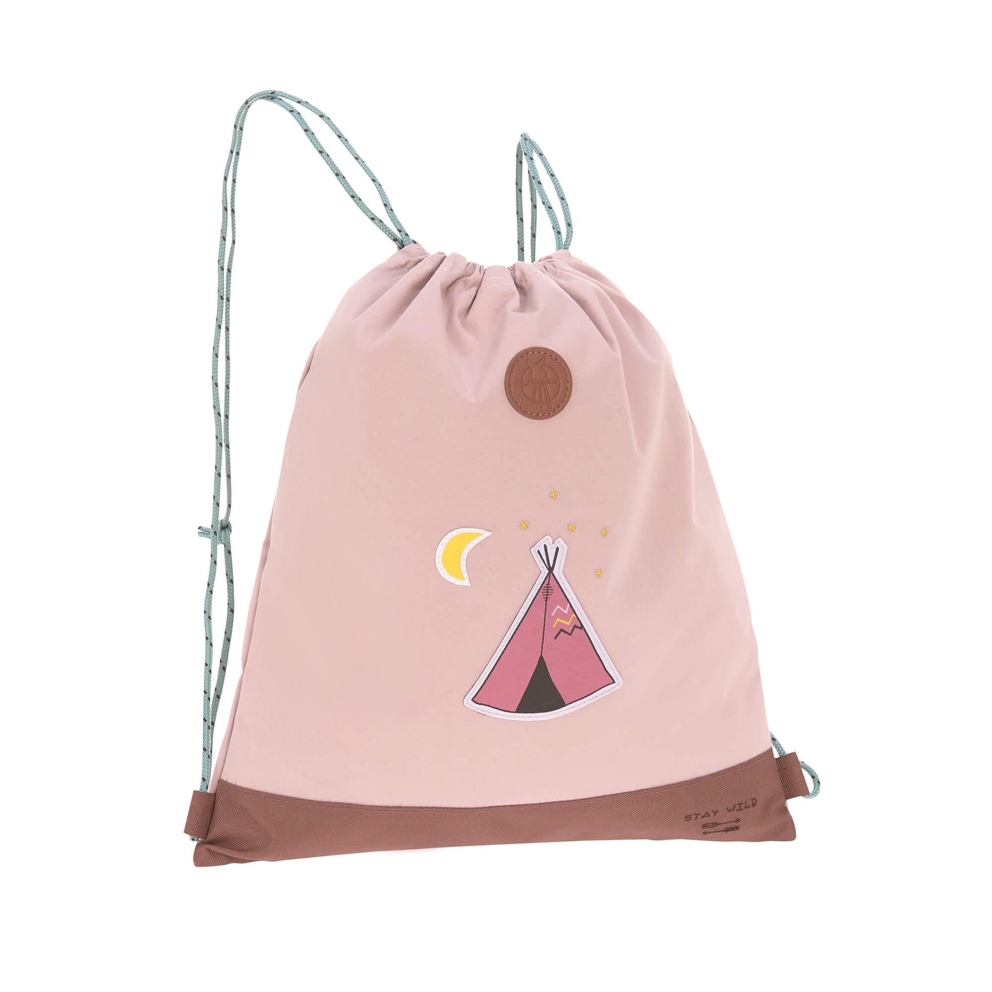 bbe4f924d3dc8 Lässig Turnbeutel - Mini String Bag Adventure Tipi