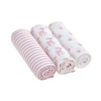 Mulltücher - Swaddle & Burp Blanket, Lela Light pink