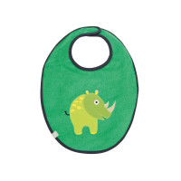 Lätzchen Bib Waterproof Medium, Wildlife Rhino
