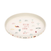 Kinderteller - Plate, Garden Explorer Girls