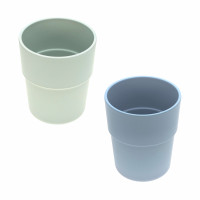 Kinderbecher Bambus Set (2 Stk) - Bamboo Mug, Mint - Blueberry