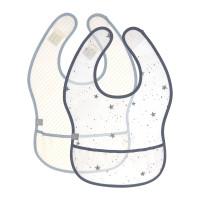 Lätzchen mit Auffangschutz (2 Stk) - Bib EVA, More Magic Seal