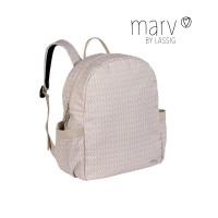 Wickelrucksack Marv Backpack, Mesh Beige