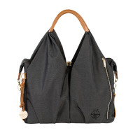 Wickeltasche - Green Label Neckline Bag, Denim Black