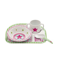Kindergeschirr Dish Sets, Starlight magenta
