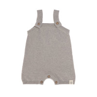 Baby Jumpsuit - Knitted Jumpsuit GOTS, Garden Explorer Grey