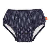 Schwimmwindel - Swim Diaper Girls, Polka Dots navy