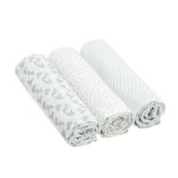 Mulltücher Heavenly Soft Swaddle & Burp Blanket L, Lela Light Blue