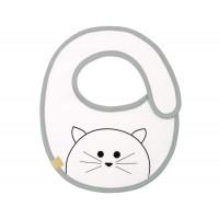 Lätzchen Bib Waterproof Small, Little Chums Cat