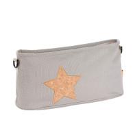 Kinderwagentasche Buggy Organizer, Cork Star Light Grey