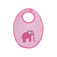 Lätzchen Bib Waterproof Medium, Wildlife Elephant