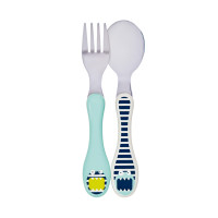 Kinderbesteck Set - Cutlery, Little Monsters Bouncing Bob