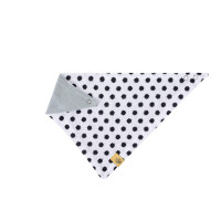 Dreieckstuch Baby Bandana Muslin, Little Chums Stars White