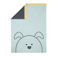 Babydecke - Knitted Blanket GOTS, Little Chums Dog
