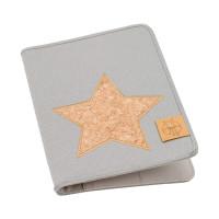 Mutterpasshülle Mum´s Organizer, Cork Star Light Grey