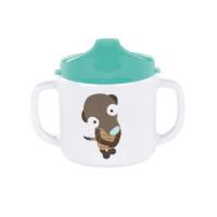 Trinklernbecher Dish Cup Melamine - Silicone, Wildlife Meerkat