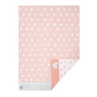 Babydecke - Knitted Blanket GOTS, Lela light pink