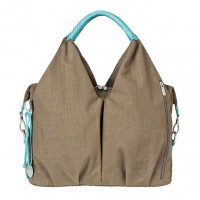 Wickeltasche Neckline Bag, taupe