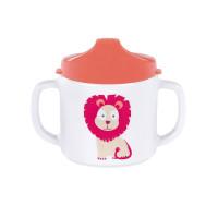 Trinklernbecher Dish Cup Melamin, Wildlife Lion