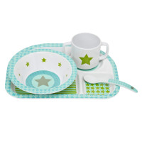 Kindergeschirr Dish Sets, Starlight olive