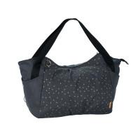 Zwillingswickeltasche Casual Twin Bag, Triangle Dark Grey