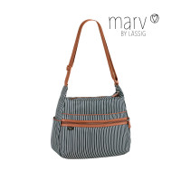 Wickeltasche -  Marv by Lässig Urban Bag, Pinstripe anthracite