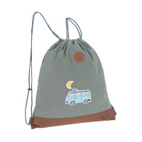 Turnbeutel -  Mini String Bag, Adventure Bus