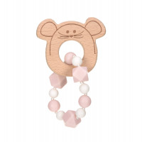 Greifling mit Beißhilfe - Teether Bracelet, Little Chums Mouse