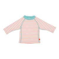 UV-Shirts Rashguard Long Sleeve Girls, Sailor Peach