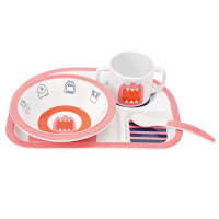 Kindergeschirr Dish Set, Little Monsters Mad Mabel
