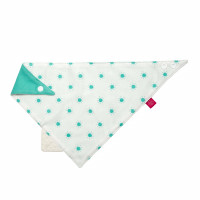 Dreieckstuch Baby - Bandana with silicone teether, Sunny boys